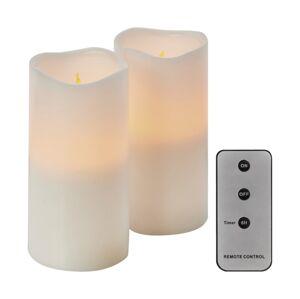 EMOS SADA 2x LED Dekorační svíčky 2xLED/0,06W/3xAAA + dálkové ovládání