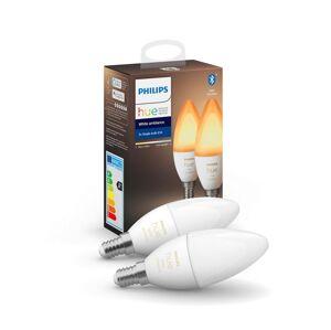Philips SADA 2x LED Stmívatelná žárovka Philips HUE WHITE B39 E14/5,2W/230V 2200K