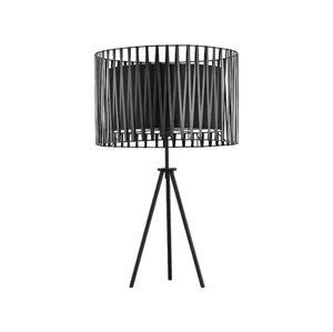 TK Lighting Stolní lampa HARMONY BLACK 1xE27/60W/230V