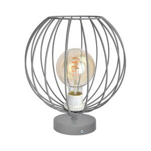 Helam Stolní lampa MERCURE 1xE27/60W/230V šedá