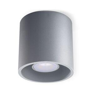 Sollux Stropní svítidlo ORBIS 1 1xGU10/40W/230V šedá
