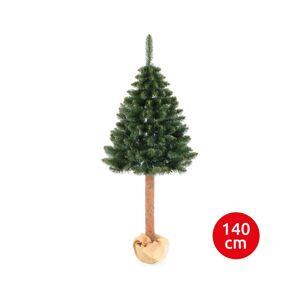 Erbis Vánoční stromek WOOD TRUNK 140 cm borovice