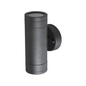 Polux Venkovní nástěnné svítidlo OLIMP 1 2xGU10/35W černá IP44